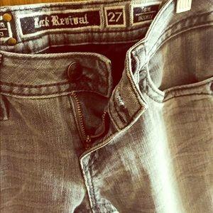 Rock Revival lowrise skinny jeans